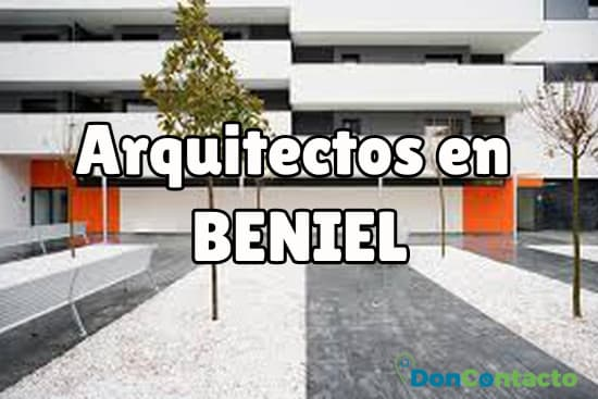 Arquitectos en Beniel