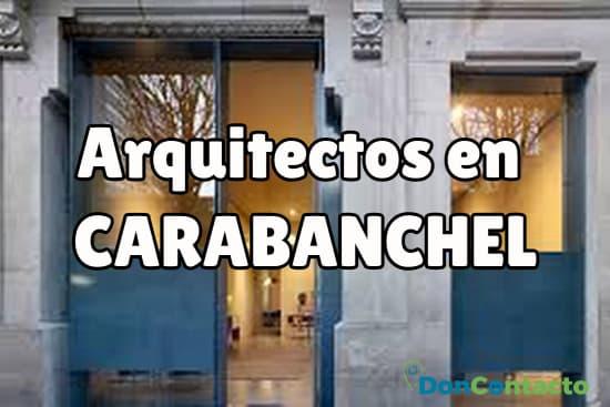 Arquitectos en Carabanchel