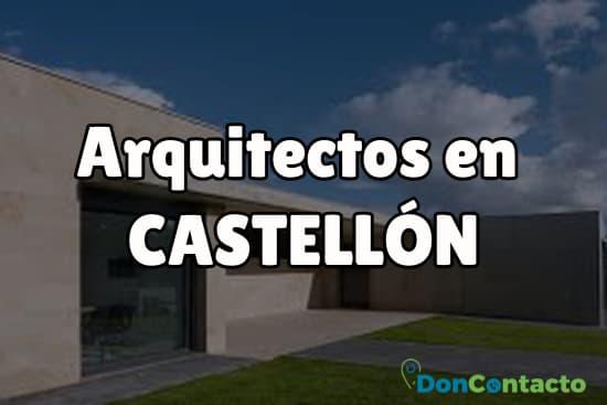 Arquitectos en Castellón