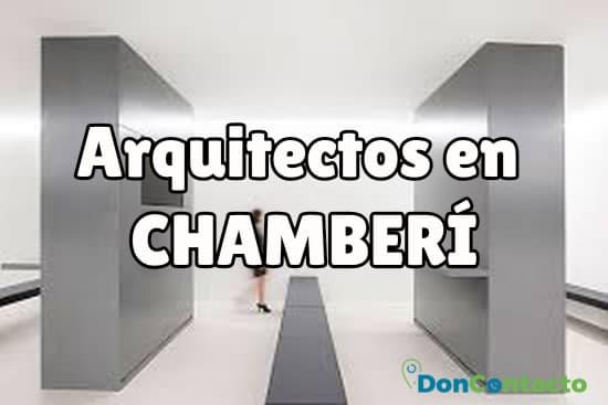 Arquitectos en Chamberí