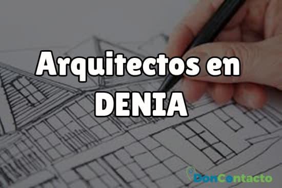 Arquitectos en Denia