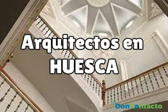 Arquitectos en Huesca
