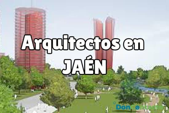 Arquitectos en Jaén