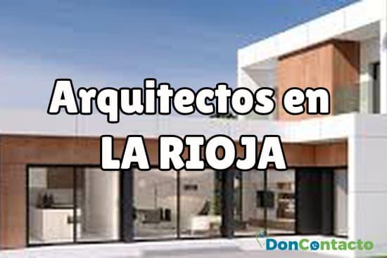 Arquitectos en La Rioja