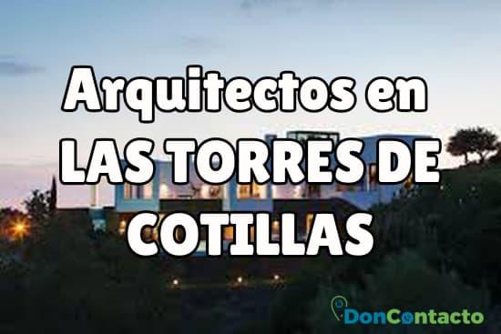 Arquitectos en Las Torres de Cotillas