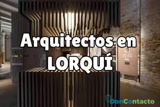 Arquitectos en Lorquí