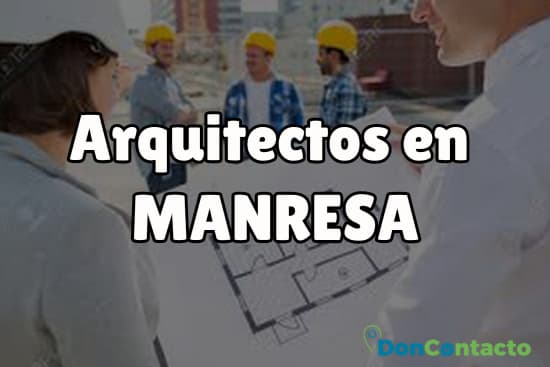 Arquitectos en Manresa