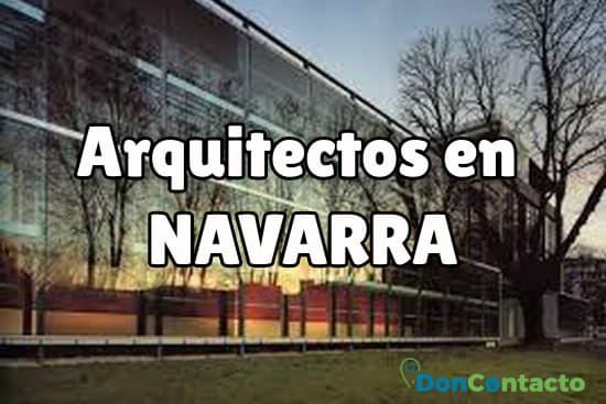 Arquitectos en Navarra