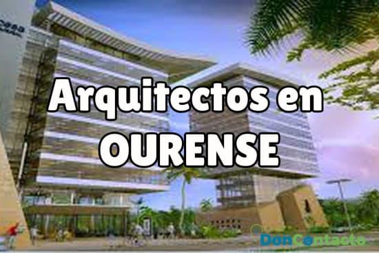 Arquitectos en Ourense