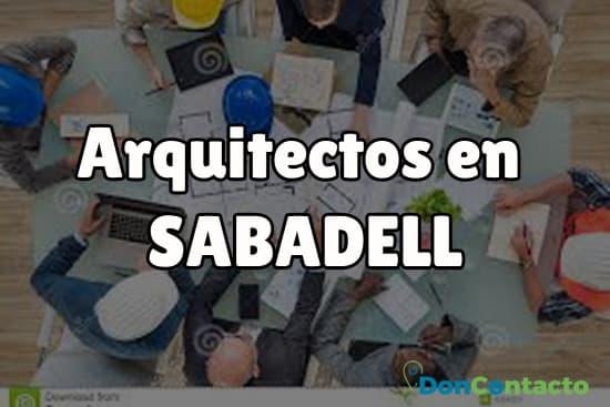 Arquitectos en Sabadell