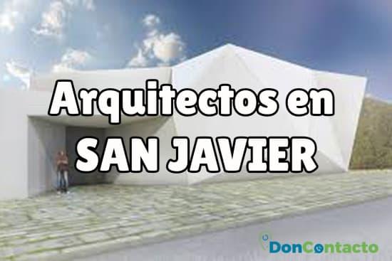 Arquitectos en San Javier