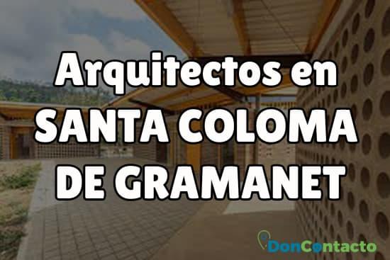 Arquitectos en Santa Coloma de Gramanet