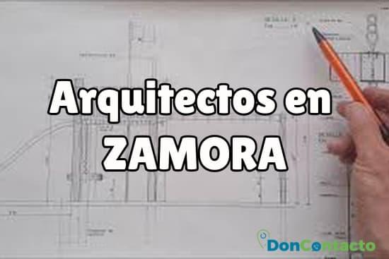 Arquitectos en Zamora