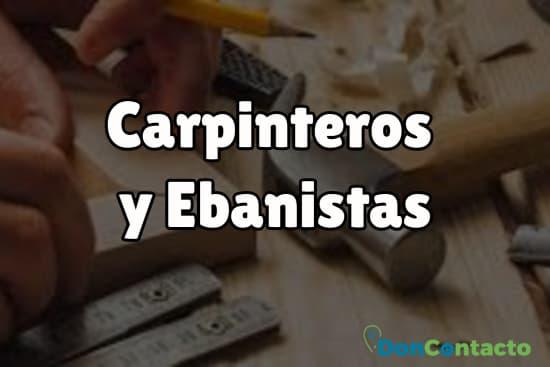 Carpinteros y Ebanistas