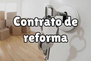 Contratos de reforma: ¿qué puntos debería incluir?