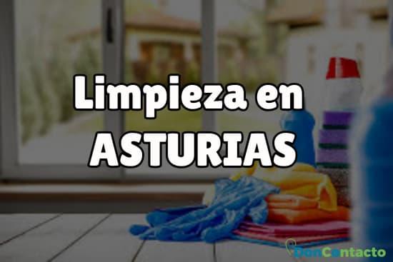 Limpieza en Asturias