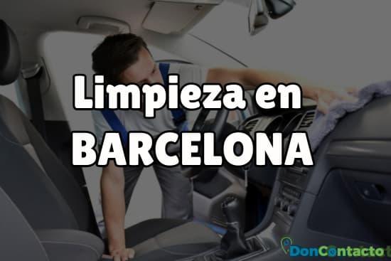 Limpieza en Barcelona