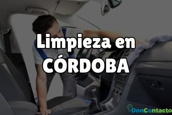 Limpieza en Córdoba