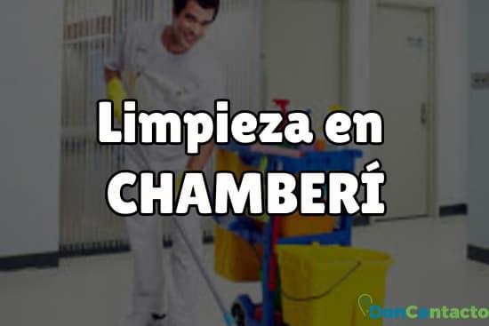 Limpieza en Chamberí