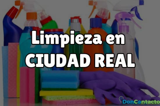 Limpieza en Ciudad Real