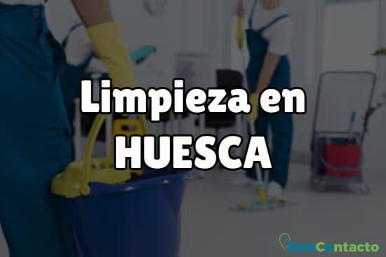 Limpieza en Huesca