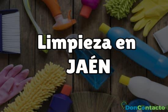 Limpieza en Jaén