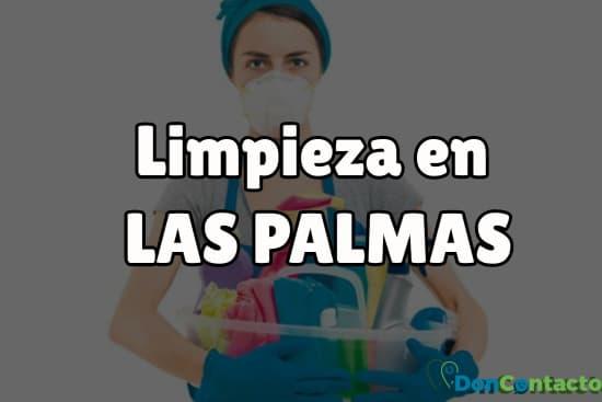 Limpieza en Las Palmas