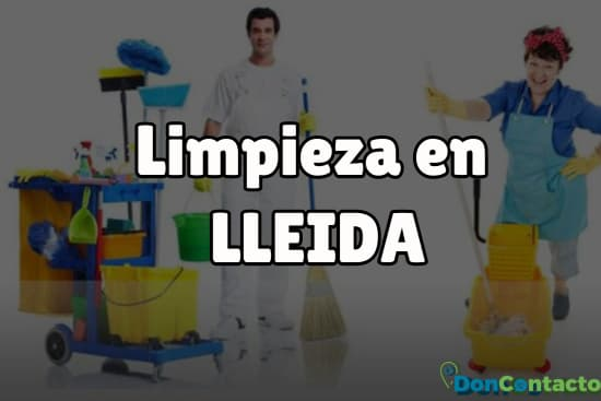 Limpieza en Lleida