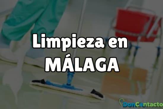 Limpieza en Málaga