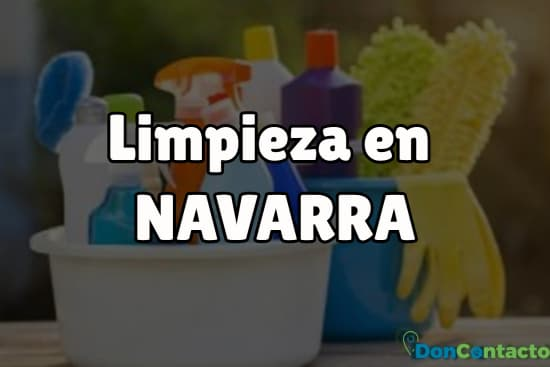 Limpieza en Navarra