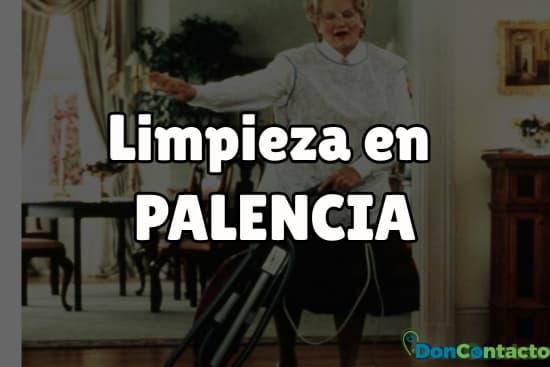 Limpieza en Palencia