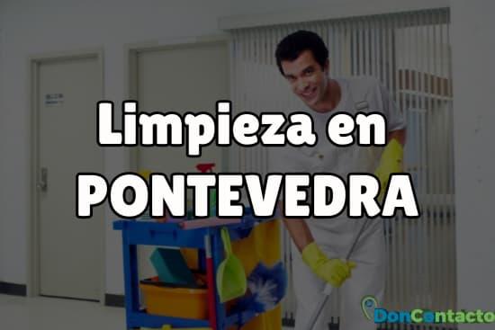 Limpieza en Pontevedra