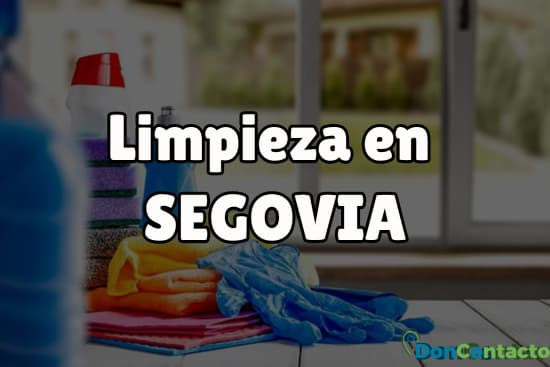 Limpieza en Segovia