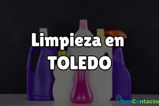 Limpieza en Toledo