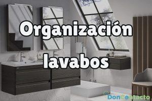 Organización del lavabo, ¿cómo optimizar el espacio?