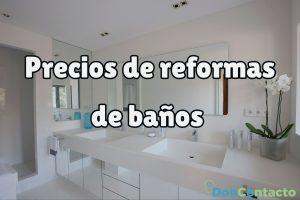 ¿Cuánto cuesta una reforma de baño?