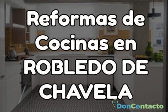 Reformas de cocinas en Robledo de Chavela