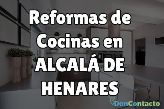 Reformas de cocinas en Alcalá de Henares