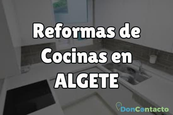 Reformas de cocinas en Algete