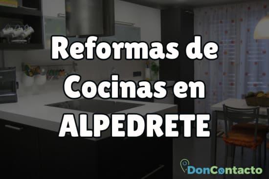Reformas de cocinas en Alpedrete
