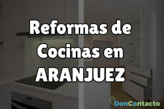 Reformas de cocinas en Aranjuez