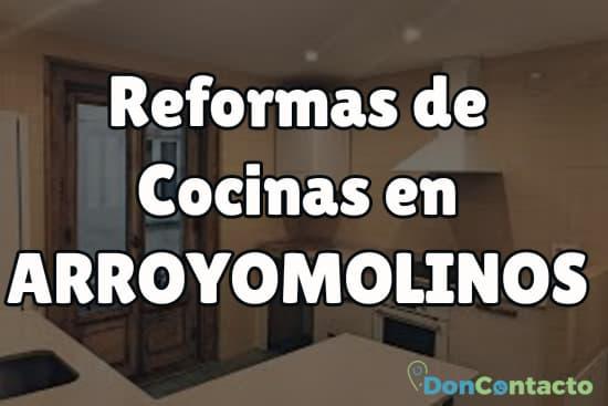 Reformas de cocinas en Arroyomolinos