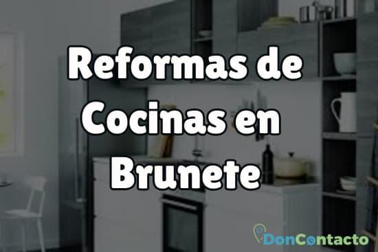 Reformas de cocinas en Brunete