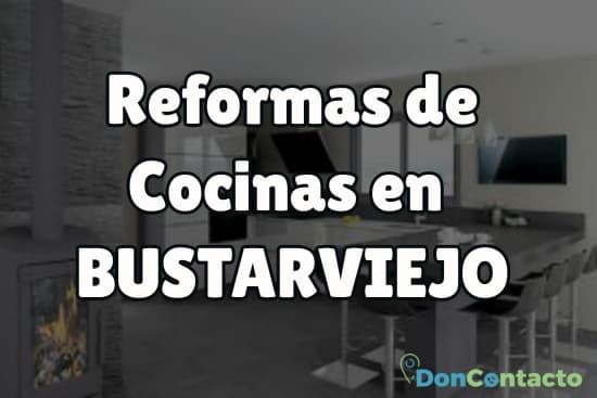Reformas de cocinas en Bustarviejo