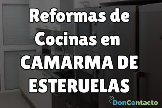 Reformas de cocinas en Camarma de Esteruelas