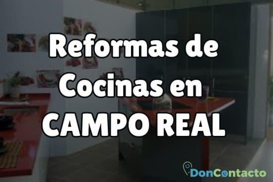 Reformas de cocinas en Campo Real