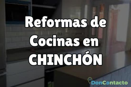 Reformas de cocinas en Chinchón