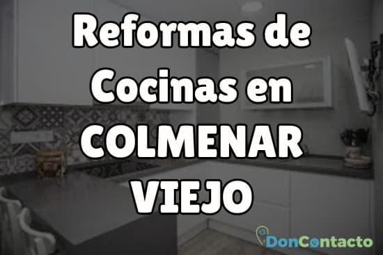 Reformas de cocinas en Colmenar Viejo