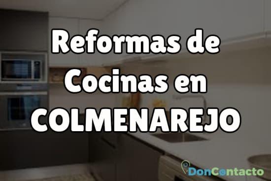 Reformas de cocinas en Colmenarejo