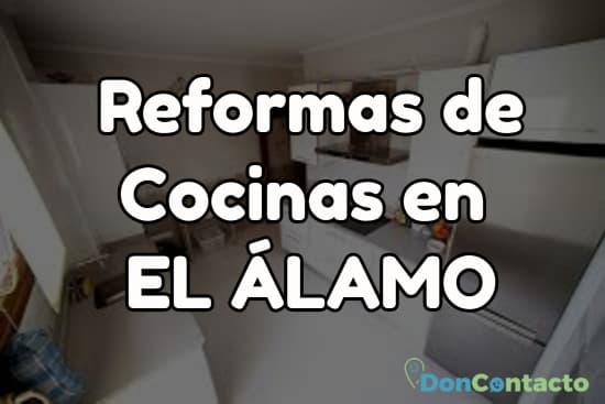Reformas de cocinas en El Álamo